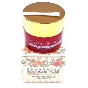 Crema Facial Blanqueadora con Aceite de Rosa Boutique Rose, 45 ml