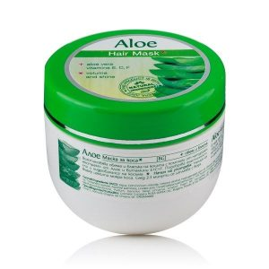 Mascarilla capilar para volumen y brillo con Aloe Vera, 250 ml