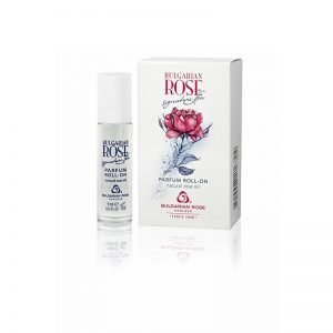 Perfume roll-on sin alcohol Bulgarian Rose Signiture Spa, 9 ml