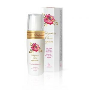 Aceite de masaje facial Bulgarian Rose Signature, 35 ml.